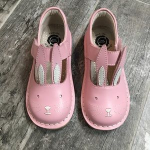 New Livie & Luca girls Molly pink bunny shoes, 11